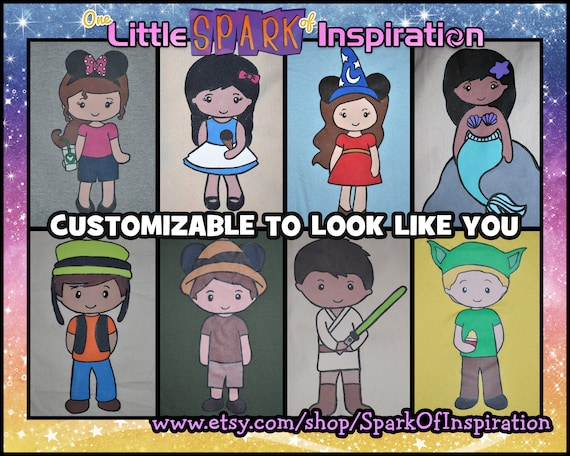 Cuties Collection Magical Me Make Yourself A Cartoon Character Etsy