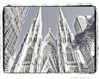 St. Patrick, Cathedral, Photography, New York City, Church, NYC, Architecture, Manhattan, FREE SHIPPING!