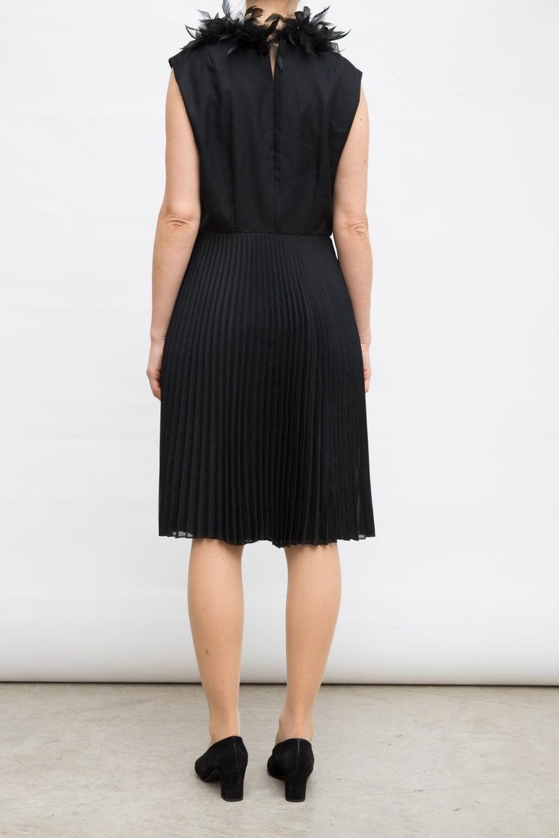 Medium to Large Dress Formal Event Dress Novalin Gown Knee Length Gown Little Black Dress Black Cocktail Dress Black Midi Dress