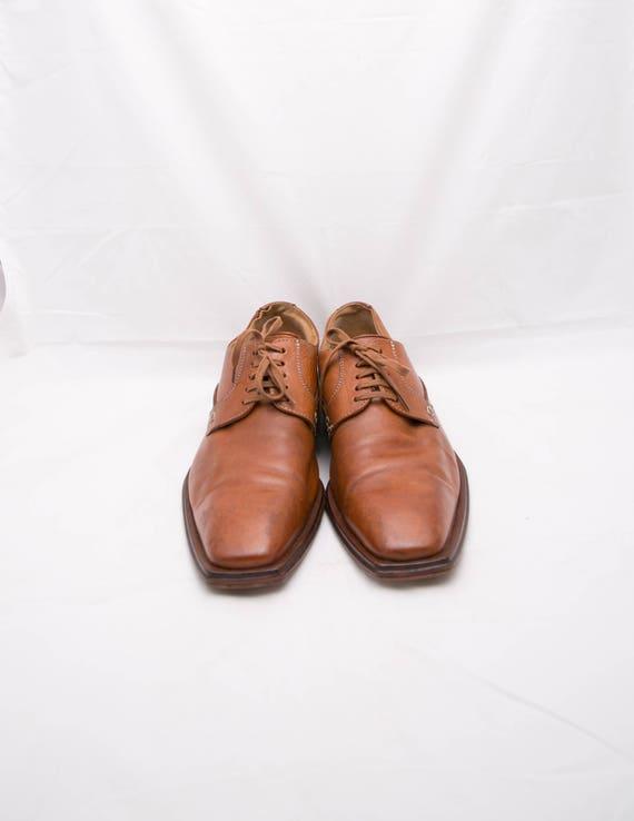 Brown Dress Shoes Brown Lace Up Shoes Plain Toe Shoes Men Leather Shoes German Leather Shoes Brown Oxford Shoes Lloyds Men Shoes