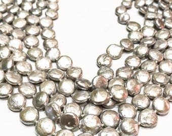 5 Row Silver Pearl Necklace