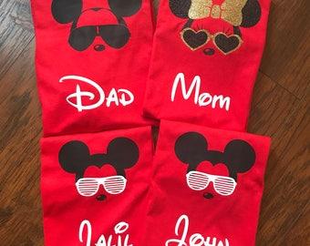 Disney Family Shirts - Family Mickey Mouse Shirts - Minnie Mouse Shirt - Disney Trip Shirts - Disney Trip Planner - Custom Disney Shirts