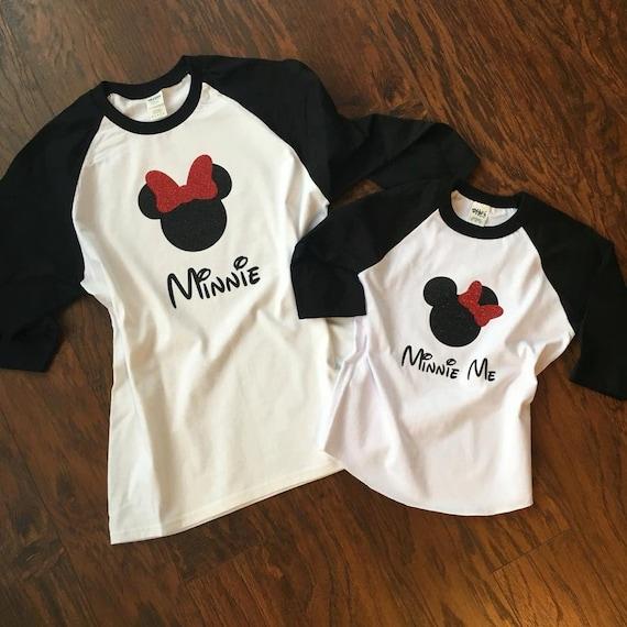 Mamá E Hija Camisas De Disney Mickey Mouse Camisetas Para La Etsy