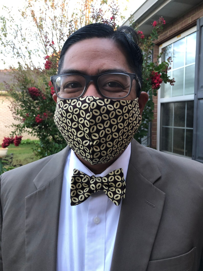 Bow Tie and Mask Combo