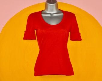 Frauen Thermische Pullover Rollkragen Enge Passform Stretch T-Shirt Top BLUSE