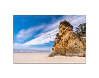Seastack beach and Clouds Ocean Fine Art Print Photograph Wall Art Seascape of Ocean, Sea, Waves Seagulls Sea Stacks Seascape