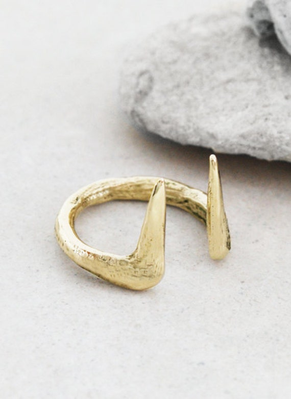 Adjustable Sakae Ring Gold Etsy