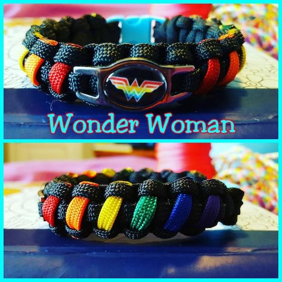 Wonder Woman Paracord Bracelet
