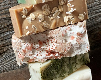Any Five (5) Bars - Castile - Olive Oil Soap