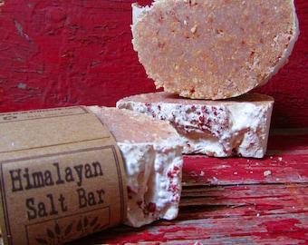 Himalayan Salt Bar -  Castile - 77% Olive Oil Soap