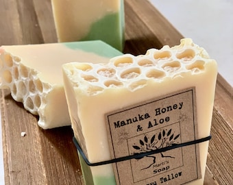 Manuka Honey & Wagyu Tallow Soap