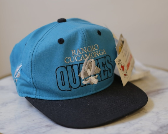 1990s deadstock hat // vintage Rancho Cucamonga Quakes hat // vintage hat