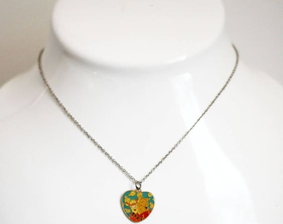 1980s Winnie the Pooh necklace // 1980s Disney necklace // vintage jewlery
