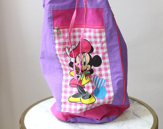 1990s Mickey Mouse ball mini back pack // vintage Mickey purse// vintage Disney purse