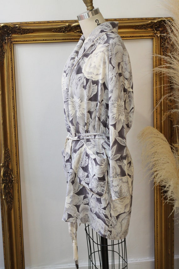 1980s three piece silk set // 1980s 3 piece flora… - image 8