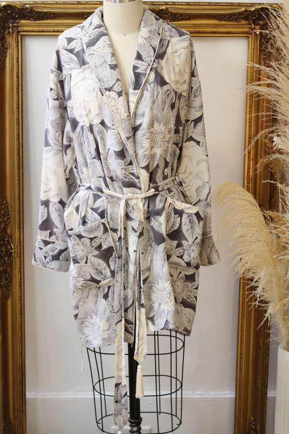 1980s three piece silk set // 1980s 3 piece flora… - image 6