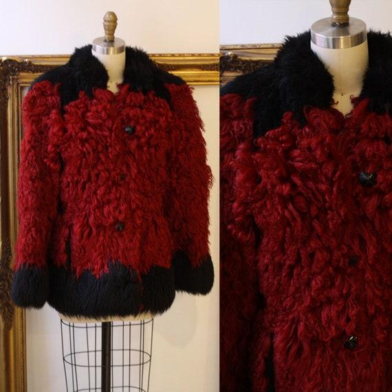 1970s Yves Saint Laurent / 1970 YSL Fur Coat / Vintage Coat