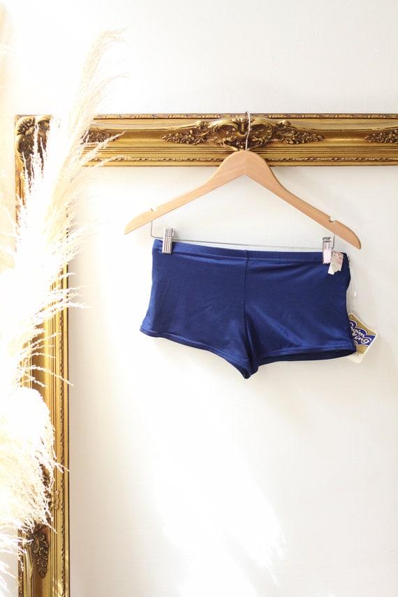 1950s Swim King trunks //1950s swimming shorts // 1960s deadstock bathing suit