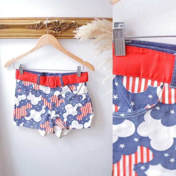 1960s americana shorts //1960s short shorts // 1970s booty shorts