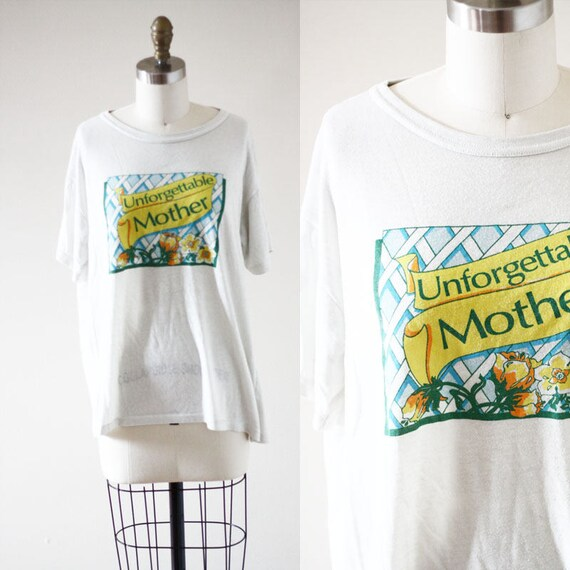 1980s Mother t-shirt // 1980s unforgettable shirt // vintage t-shirt