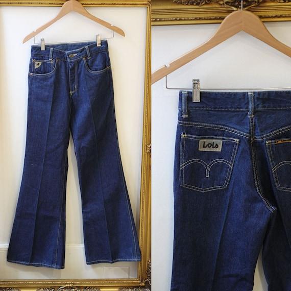 1970s Lois Bell Bottom jeans // vintage denim // vintage jeans