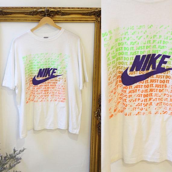 1980s NIKE t-shirt // 1980s Just Do It tshirt // vintage Nike t-shirt