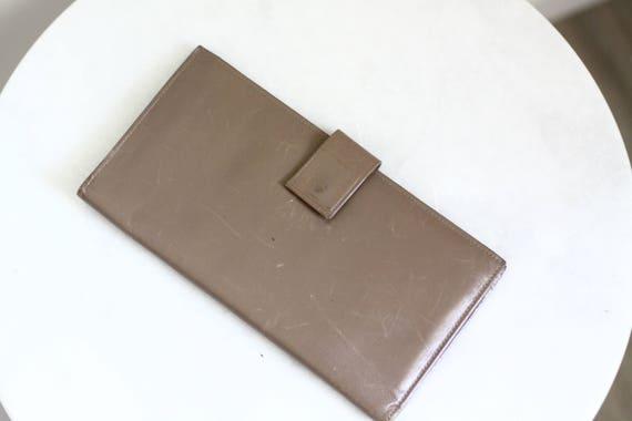 1960s Tilley leather wallet // 1960s passport holder // vintage wallet