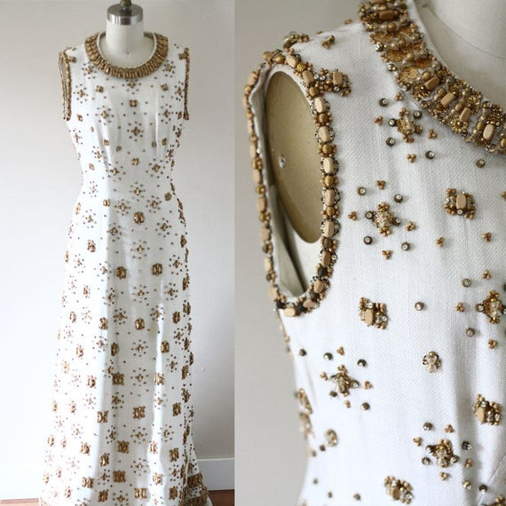 1960s Haute Couture Balmain dress // 1960s Balmain dress // couture wedding dress