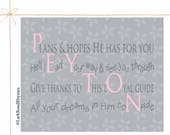 Items similar to Baby Blessing Gift Baptism Gifts For