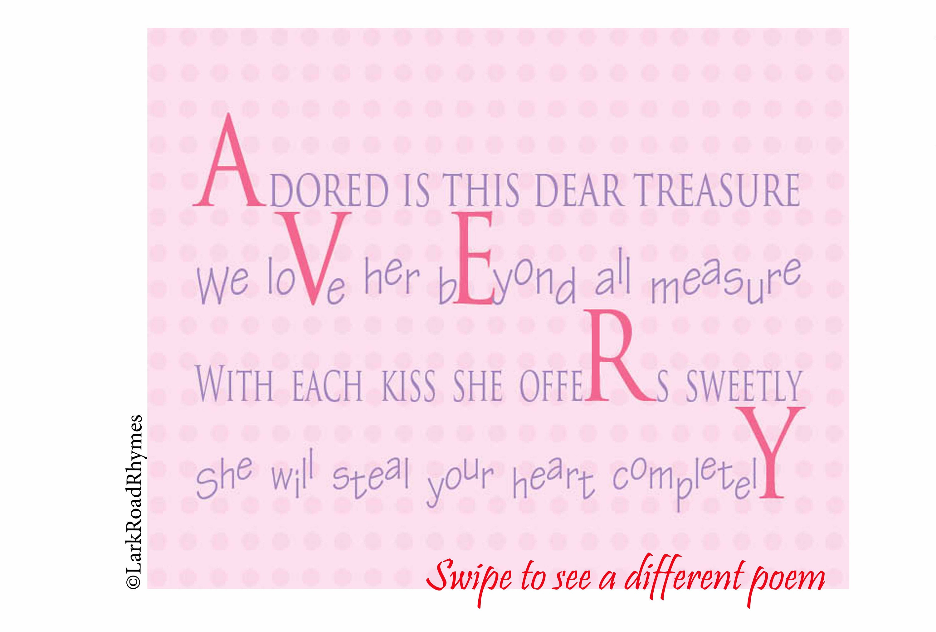 1st Birthday Gift For Baby Girl Nursery 8x10 Personalized   Etsy