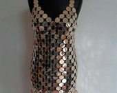 Paco Rabanne rhodoid disk dress