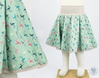 SALE 67 years Children/'s plate skirt muslin with golden pustules MORE COLORS