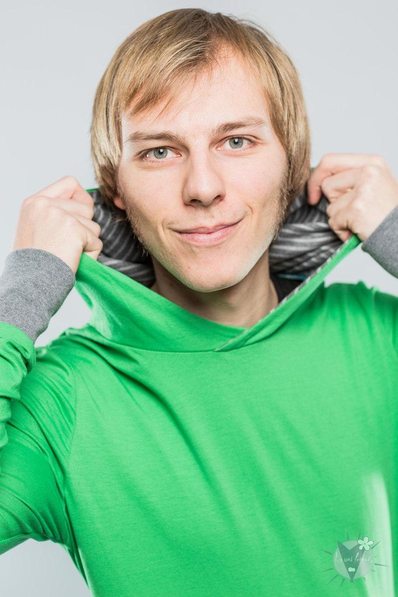 hooded sweatshirt Jersey-hoodie S-XL Light summer sweater for men