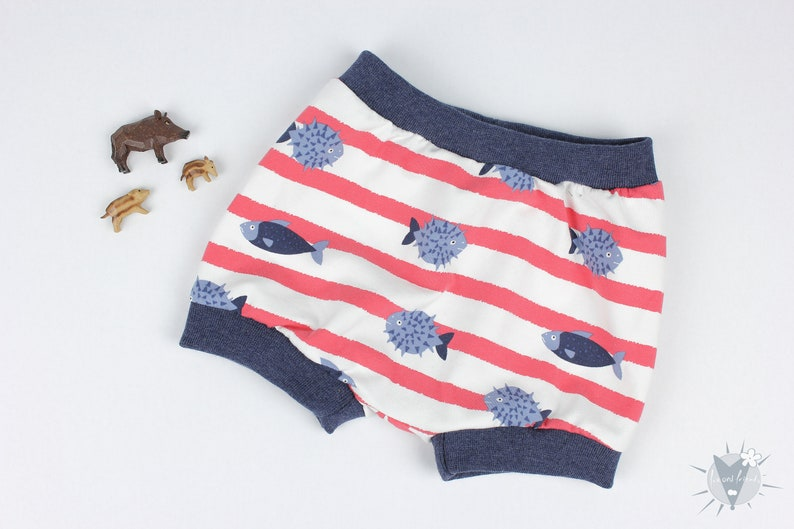 short trousers and underpants Comfortable panties easy on and off suitable for drying