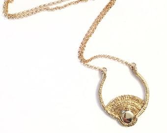 Day Necklace, Sun Necklace, Sun Pendant, Sunshine Necklace, Summer Jewelry, Sunrise Necklace, Sunset Pendant, Thin Chain Necklace