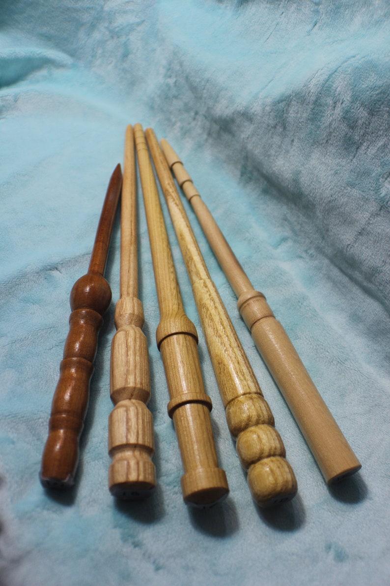 OOAK Handmade Wooden Wands Set 1 cosplay costume wizard wand original