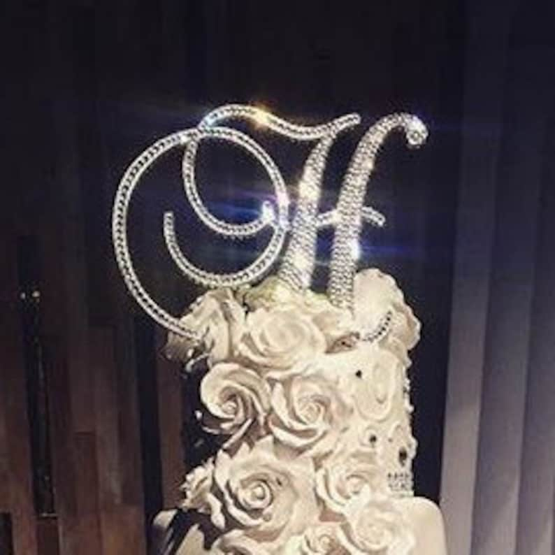 Swarovski Crystal Wedding Cake Toppers