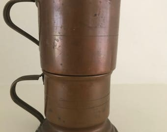 Individual Copper French Press