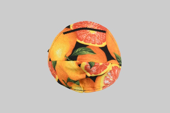 Fitted Face Mask in Grapefruit