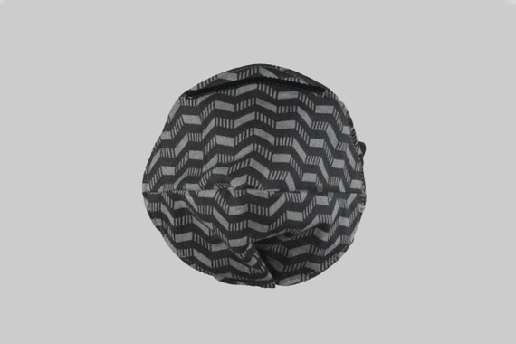 Fitted Face Mask in Chevron