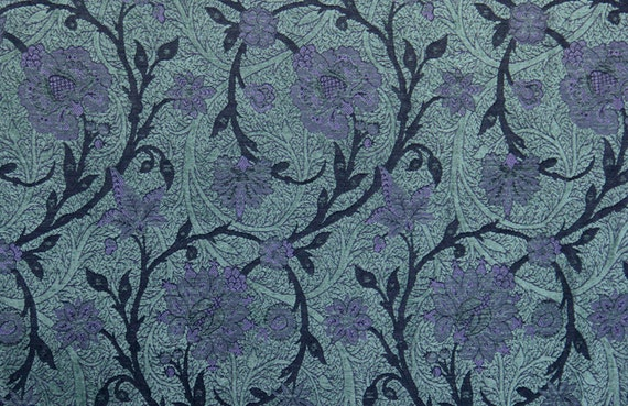 Highlands Boston Vine Jacquard Woven Floral Upholstery Fabric