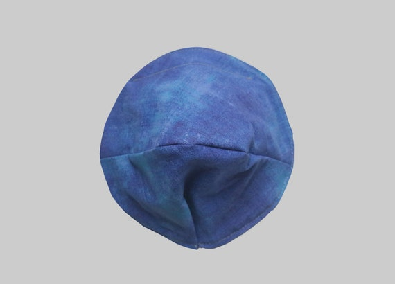 Fitted Face Mask in Cobalt
