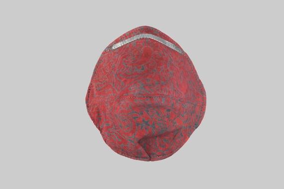 Fitted Face Mask in Rose Batik