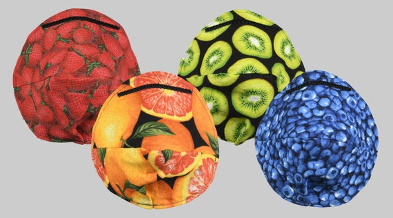 Fitted Face Mask Fruit Basket Four Pack!