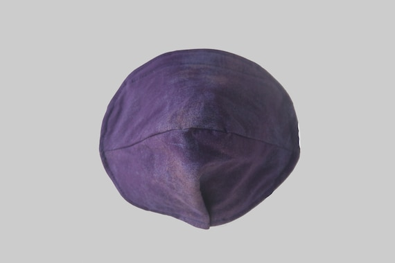 Fitted Face Mask in Plum
