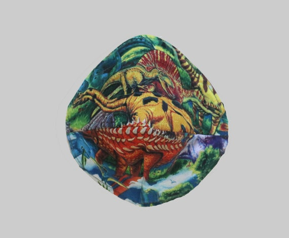Fitted Face Mask in Jurassic
