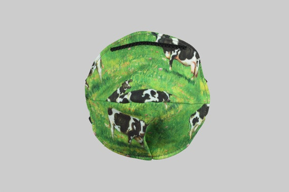 Fitted Face Mask in Moo