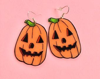 Pumpkin cutie earrings 2