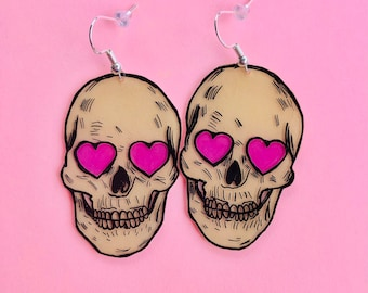 Skull cutie earrings