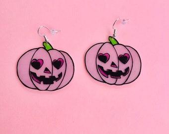 Pumpkin cutie earrings